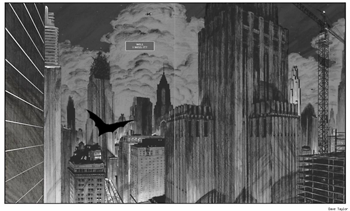 In Batman: Death By Design Chip Kidd Builds In Gotham