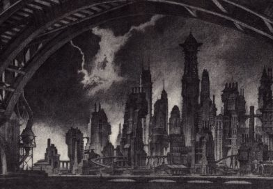 Gotham City Architecture: Solomon Wayne and Cyrus Pinkney Bring the Goth to Gotham