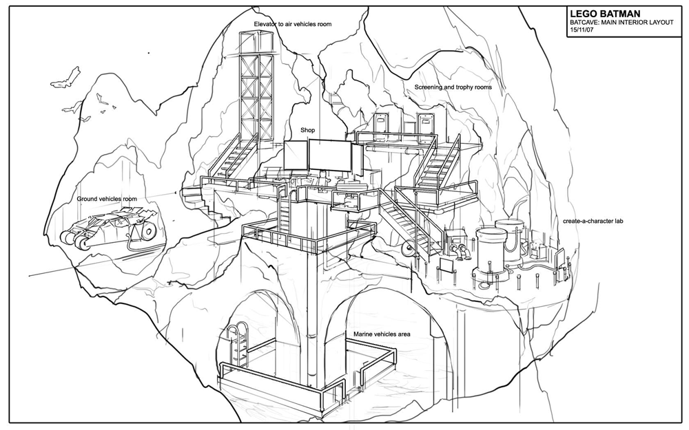bat cave coloring pages | Batman Arkham Origins Drawing Sketch Coloring Page