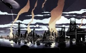 Gotham City skyline