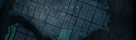 The Dark Knight Rises Gotham City Map