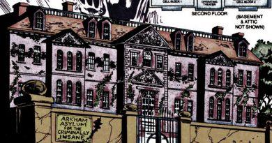 Arkham Asylum map
