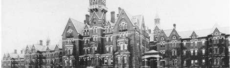 The Danvers State Hospital, also known as the Danvers Lunatic Asylum