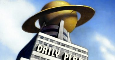 Metropolis Architecture: The Daily Planet